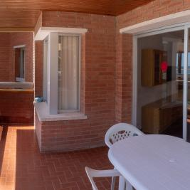 Cambrils terrace with sea views