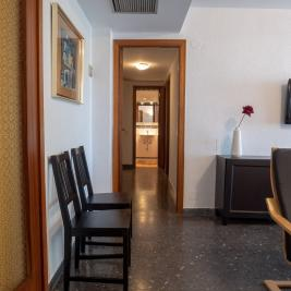 Corridor of the Cambrils apartment